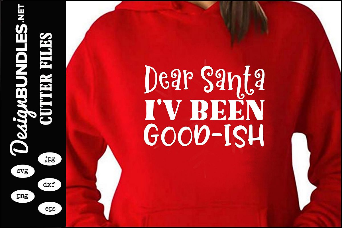 Dear Santa SVG example image 1