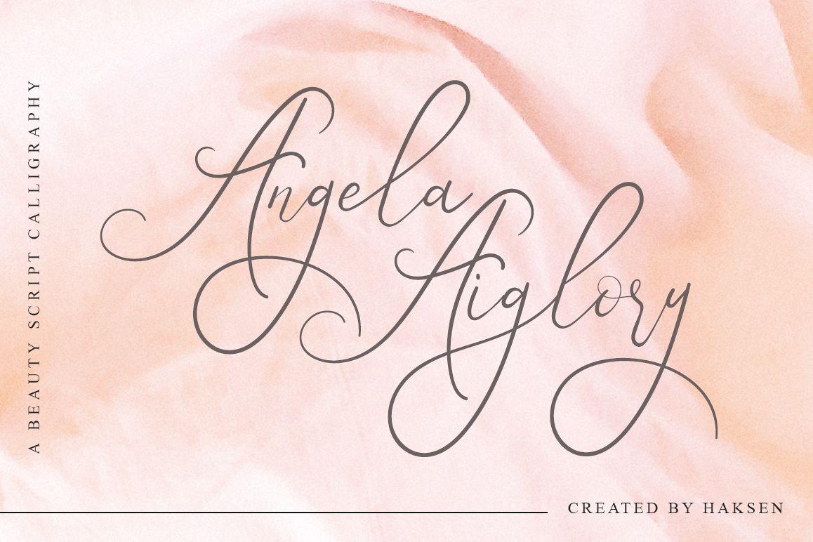 Angela Aiglory Beauty Script example image 1