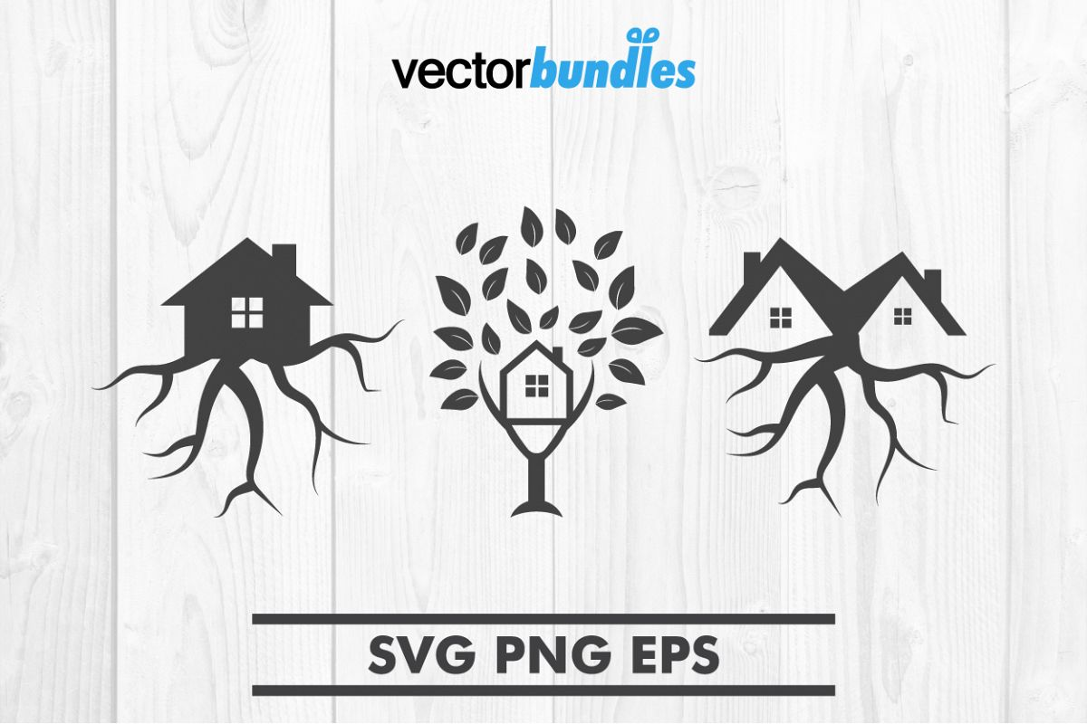 Tree house clip art svg example image 1