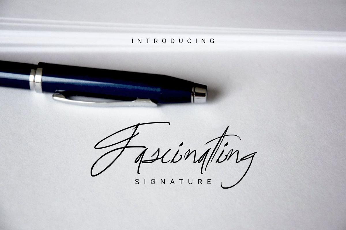 Fascinating Signature example image 1