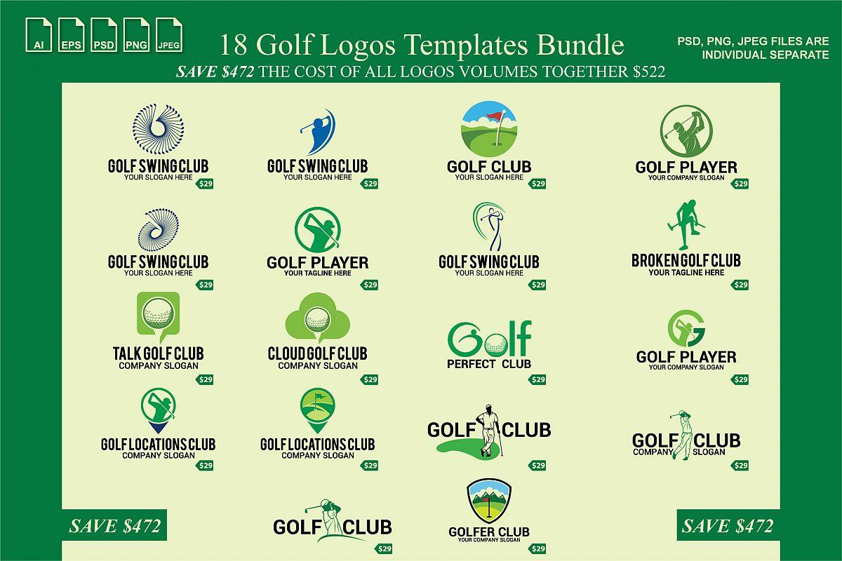 golf logos example image 1