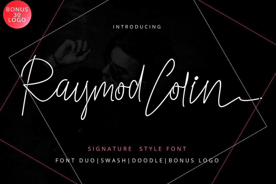 Raymod Colin Font Duo example image 1