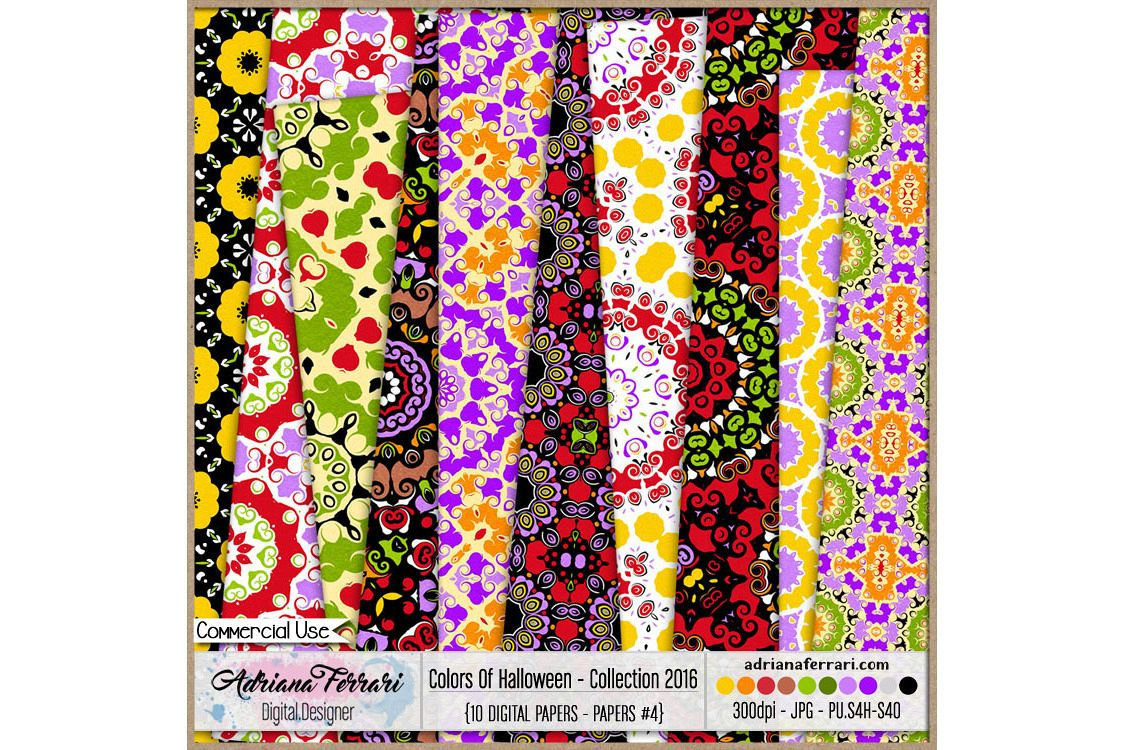 Colors Of Halloween - Collection 2016 - Paper 4 example image 1