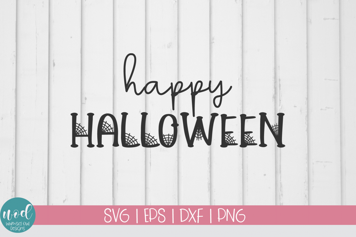 Happy Halloween SVG File example image 1