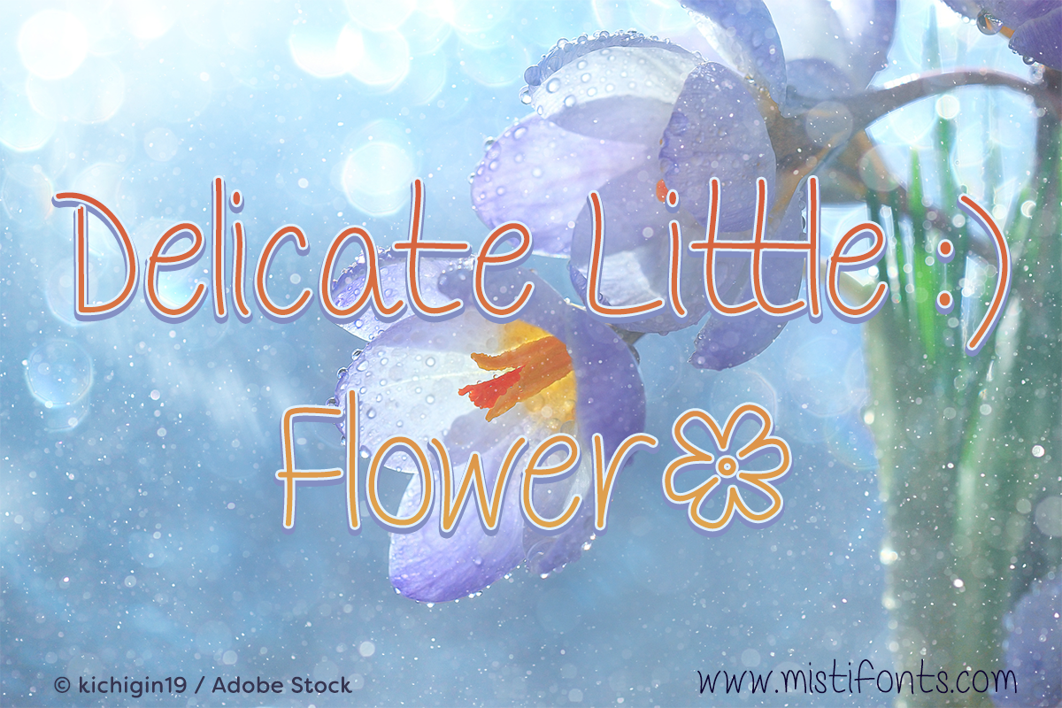 Delicate Little Flower example image 1