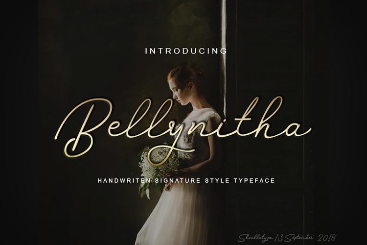 Bellynitha Script example image 1