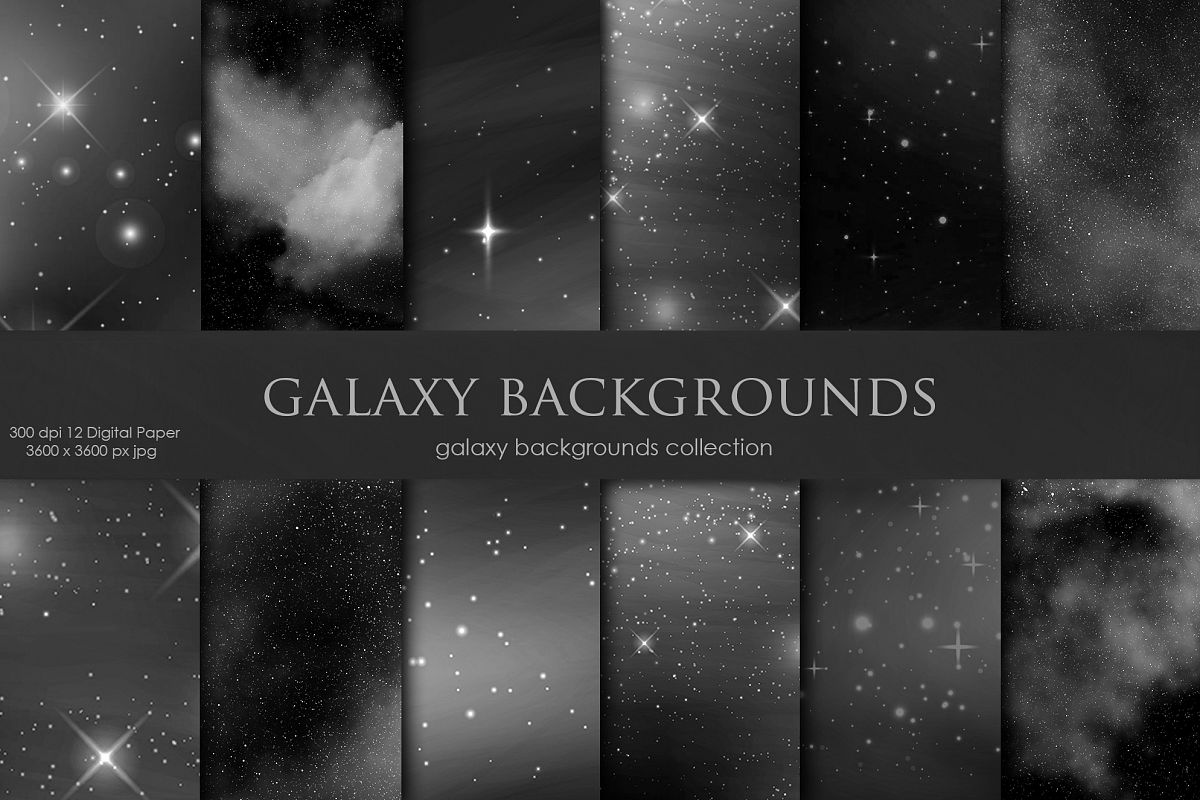 Galaxy Space Black Backgrounds example image 1