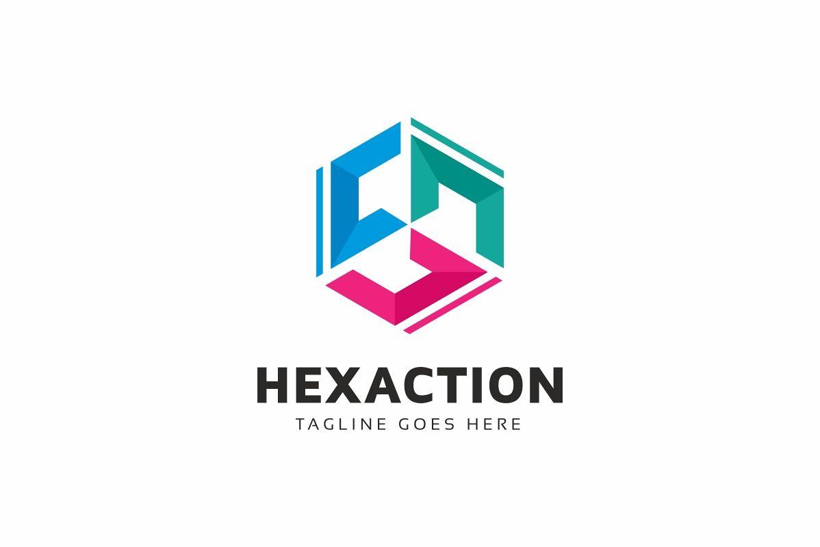 C Letter Hexagon Logo example image 1