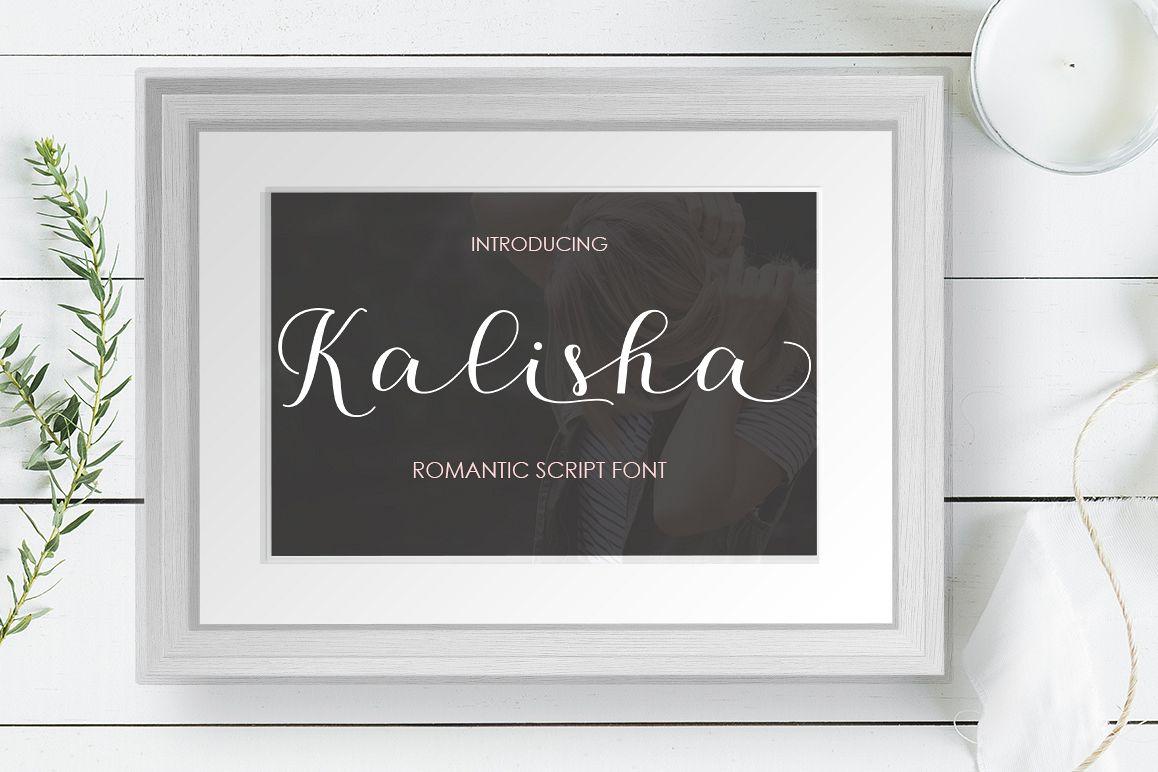 Kalisha Script example image 1