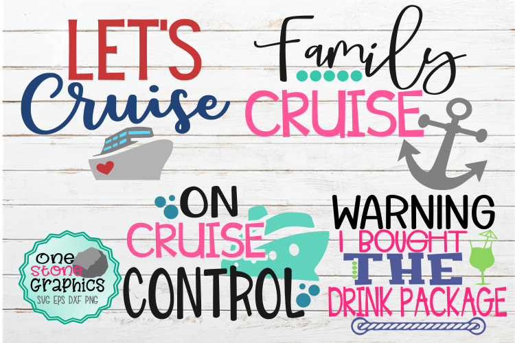 Cruise bundle svg,let's cruise svg,on cruise control svg, example image 1