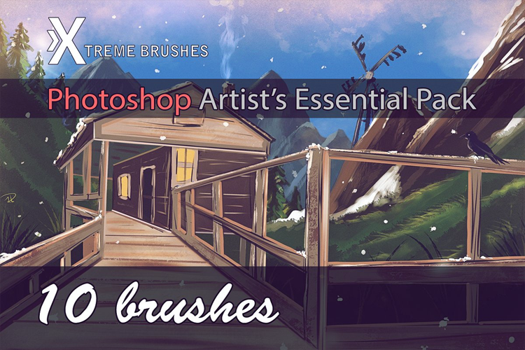 Photoshop Artist's Essential Pack example image 1