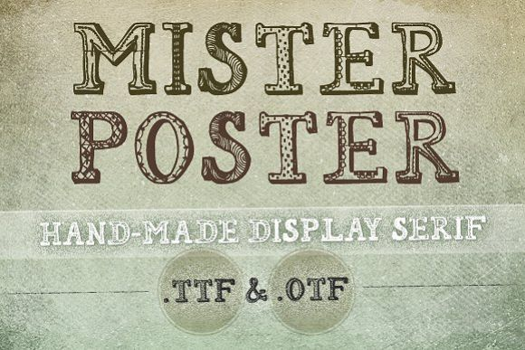Mr Poster Font example image 1
