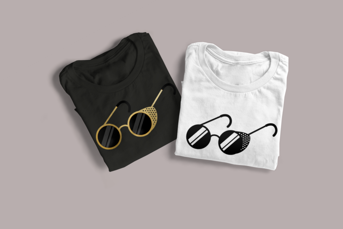Steampunk Sunglasses SVG File example image 1
