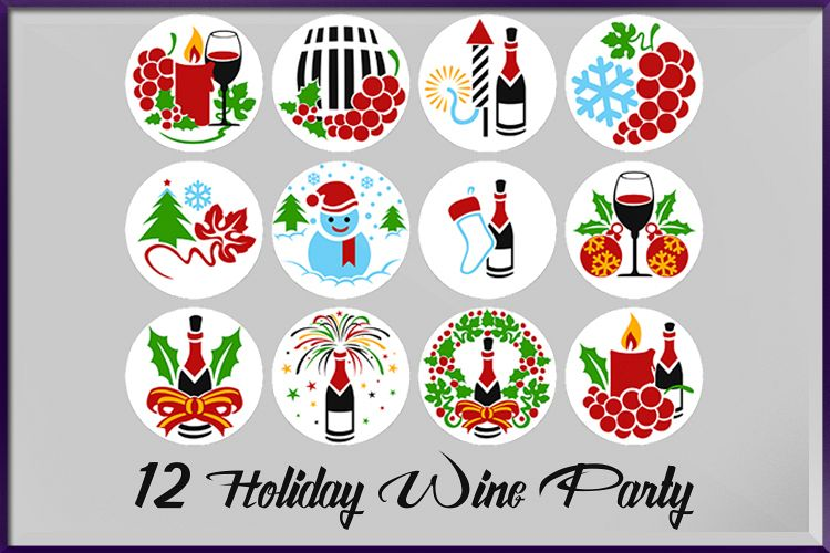 Crhistmas Wine Party Bundle example image 1