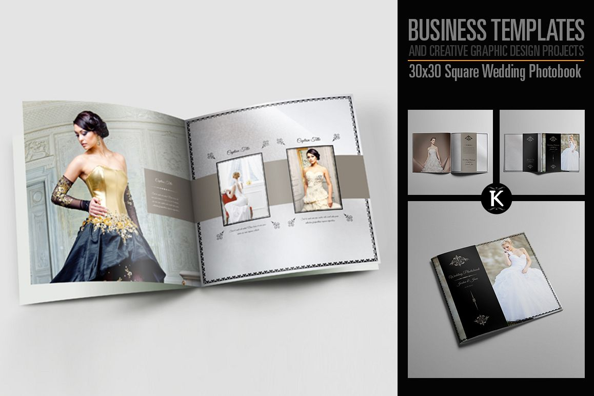 30x30 Square Wedding Photobook example image 1
