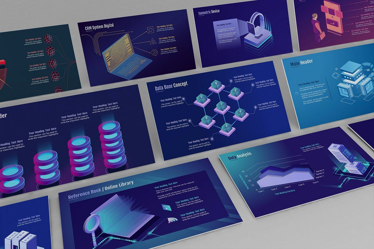 Smart Tech Keynote Template Small Pack example image 1