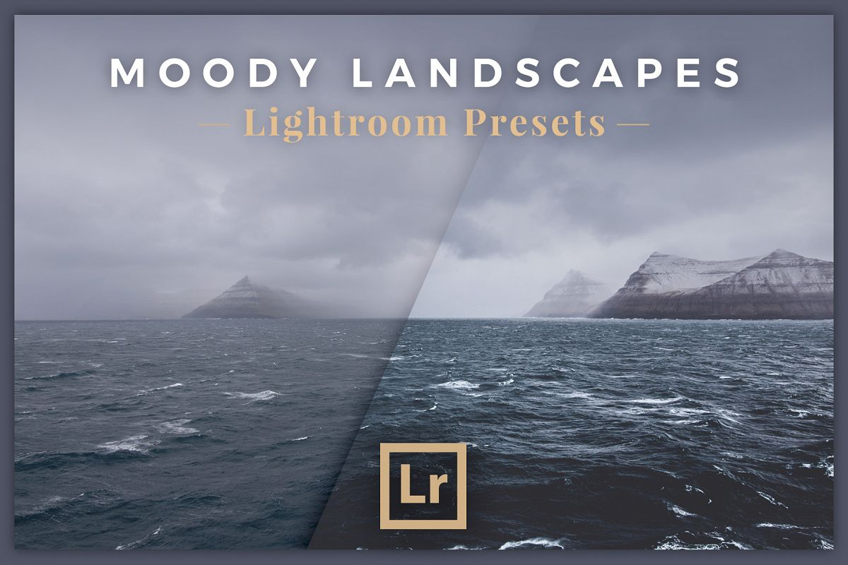 Lightroom Presets for Dark and Moody Landscapes example image 1