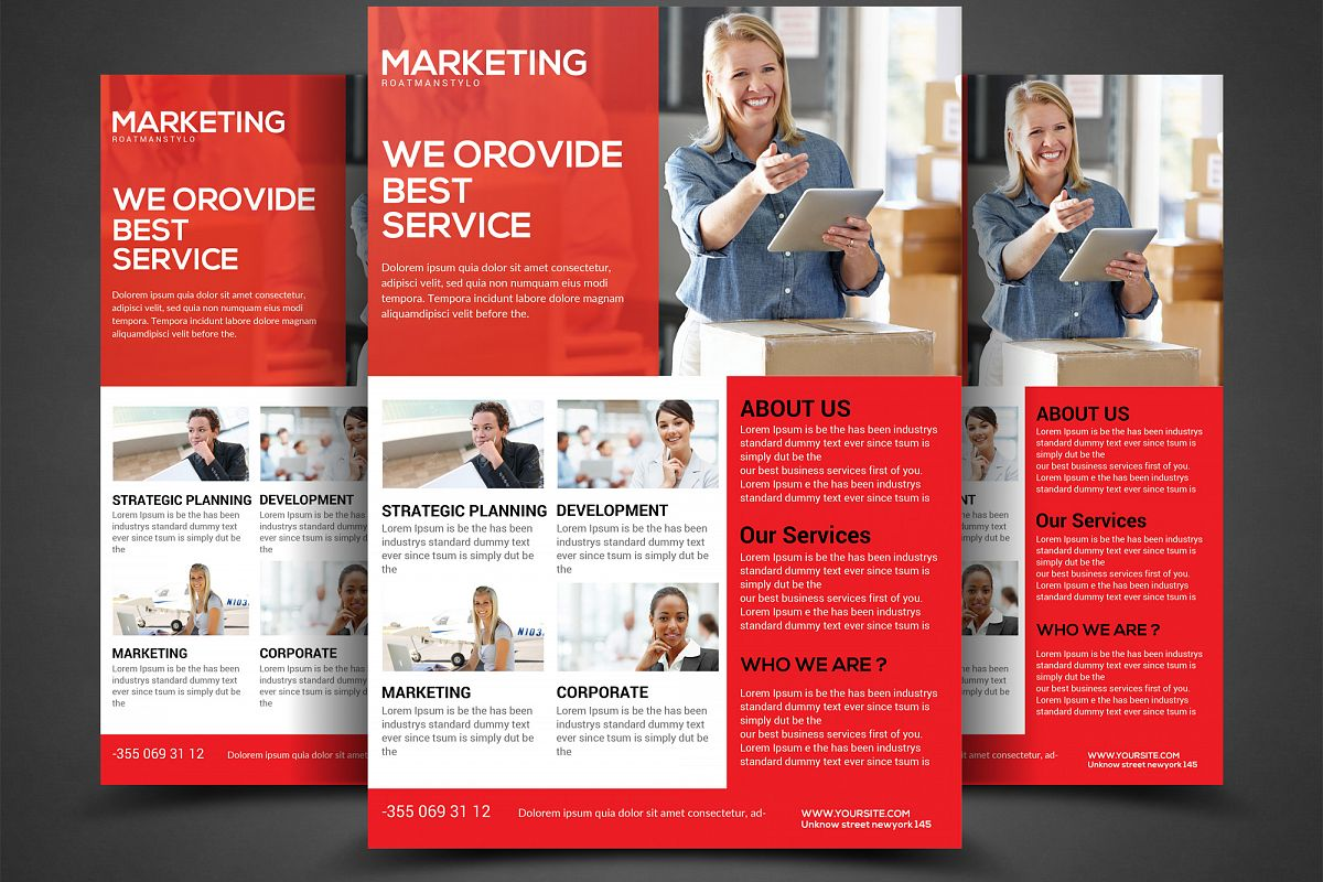 Corporate Business Flyer example image 1
