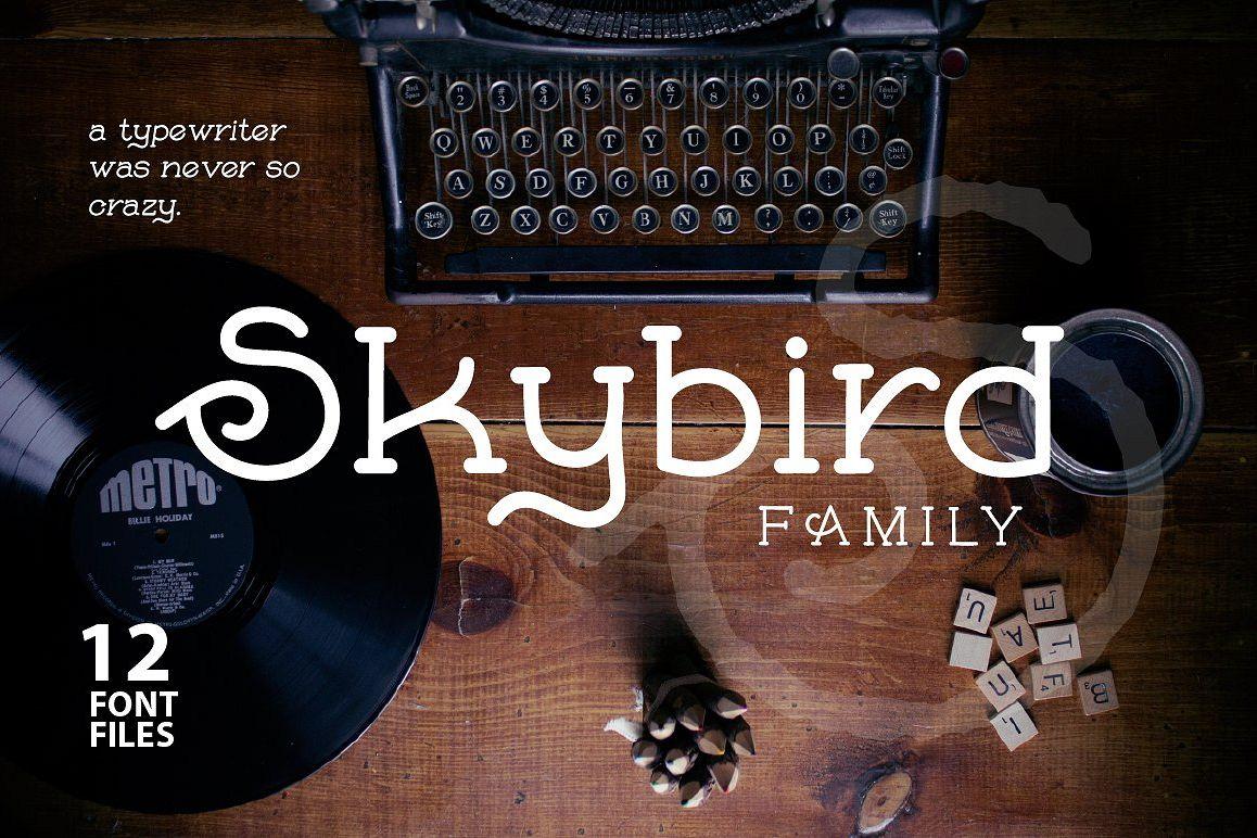 Skybird Family - Crazy, unique & retro example image 1