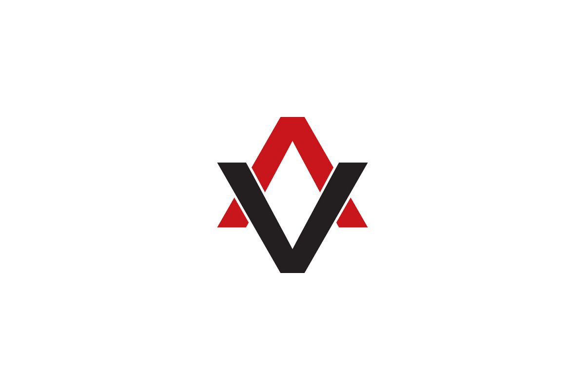 av letter logo example image 1
