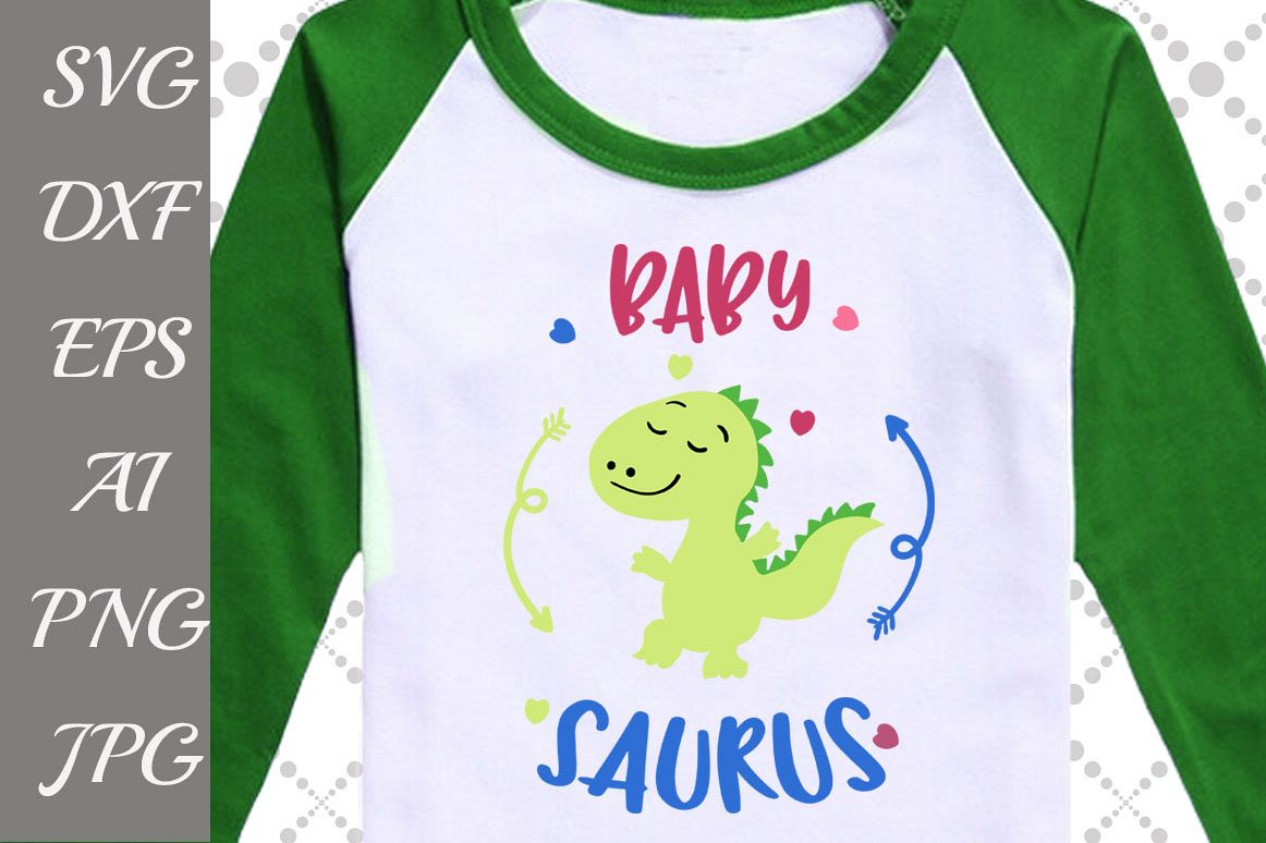 """Baby Saurus Svg: """"BABY SHOWER SVG"""" example image 1"""