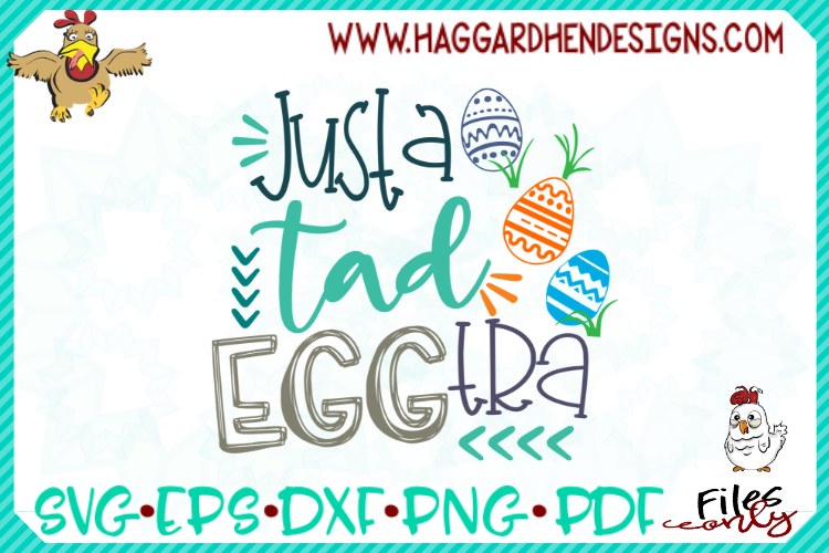 Just a Tad Eggtra SVG example image 1