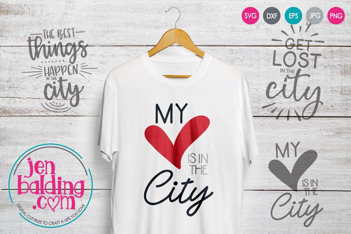 City Life SVG Mini Bundle example image 1