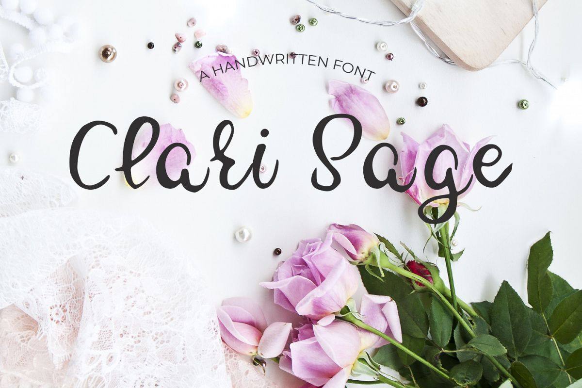 Clari Sage Font example image 1
