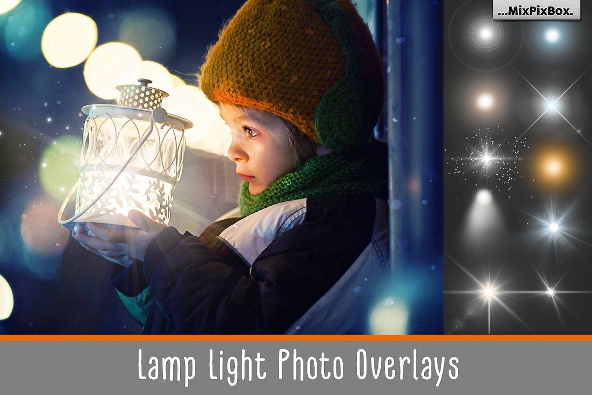 Lamp Light Photo Overlays example image 1