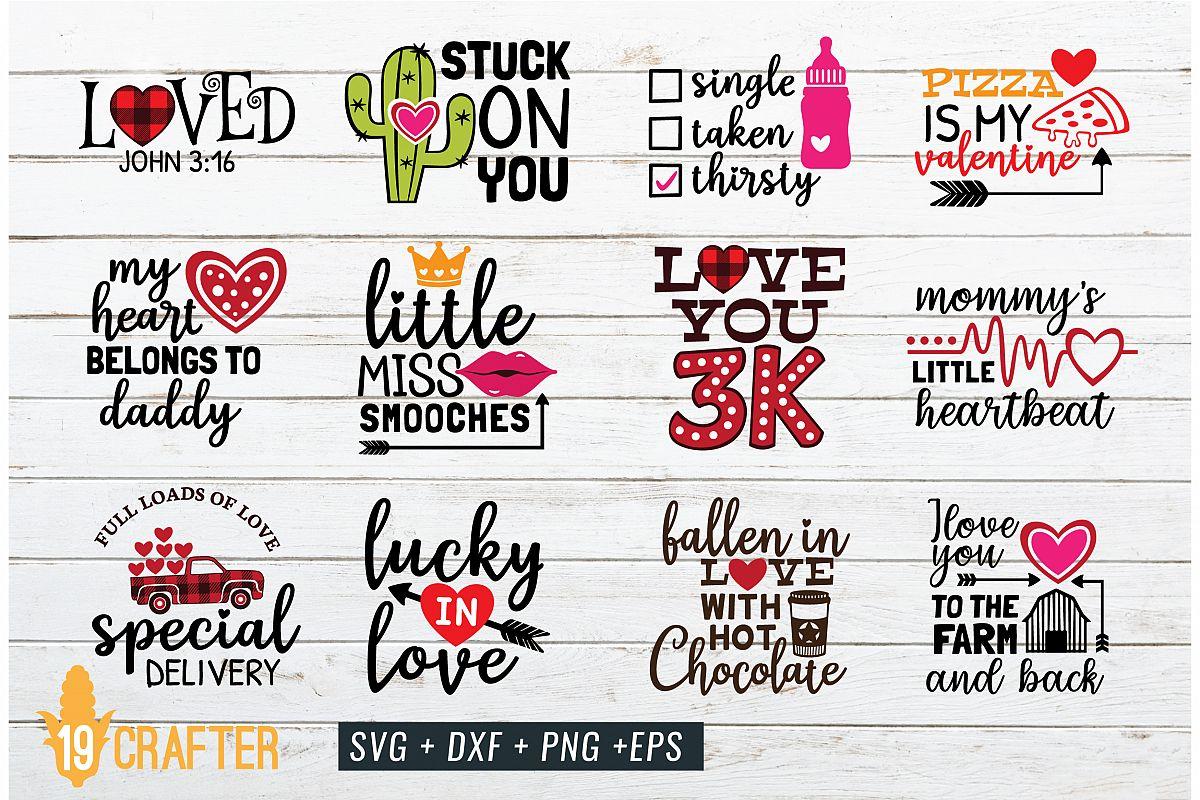 valentine day SVG craft bundle volume 2 example image 1