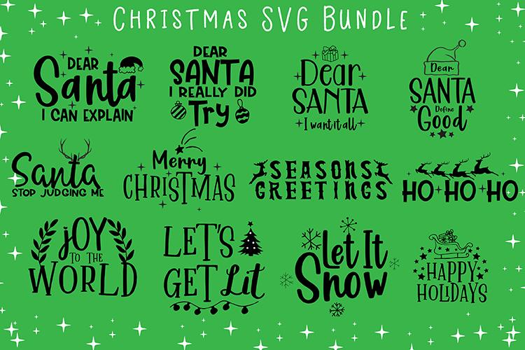 Christmas SVG Bundle example image 1