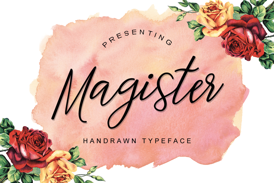 Magister Typeface example image 1