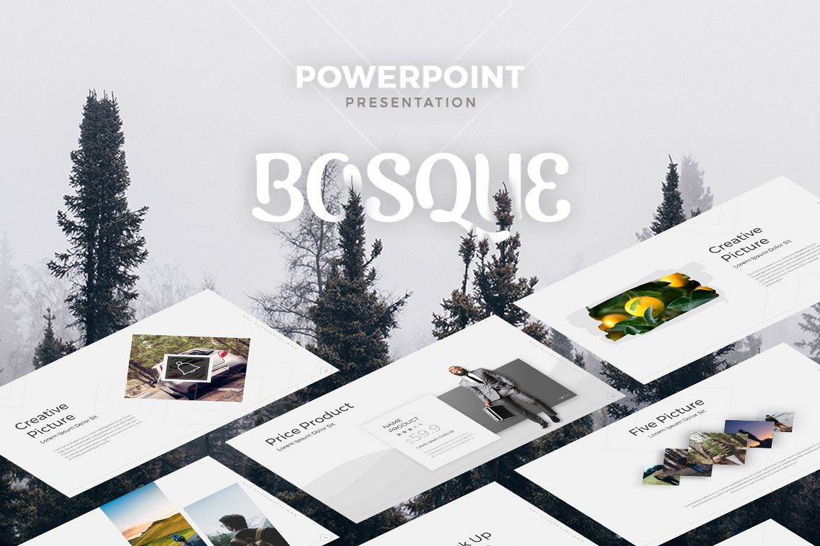 BOSQUE - Creative Template example image 1