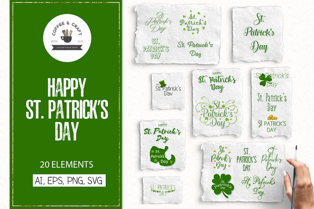 Happy St. Patrick's Day example image 1