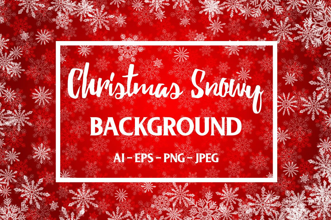 Red Christmas Background example image 1