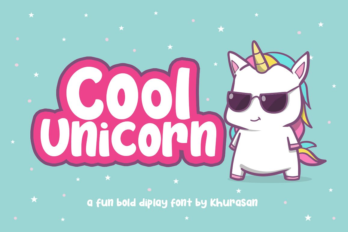 Cool Unicorn example image 1
