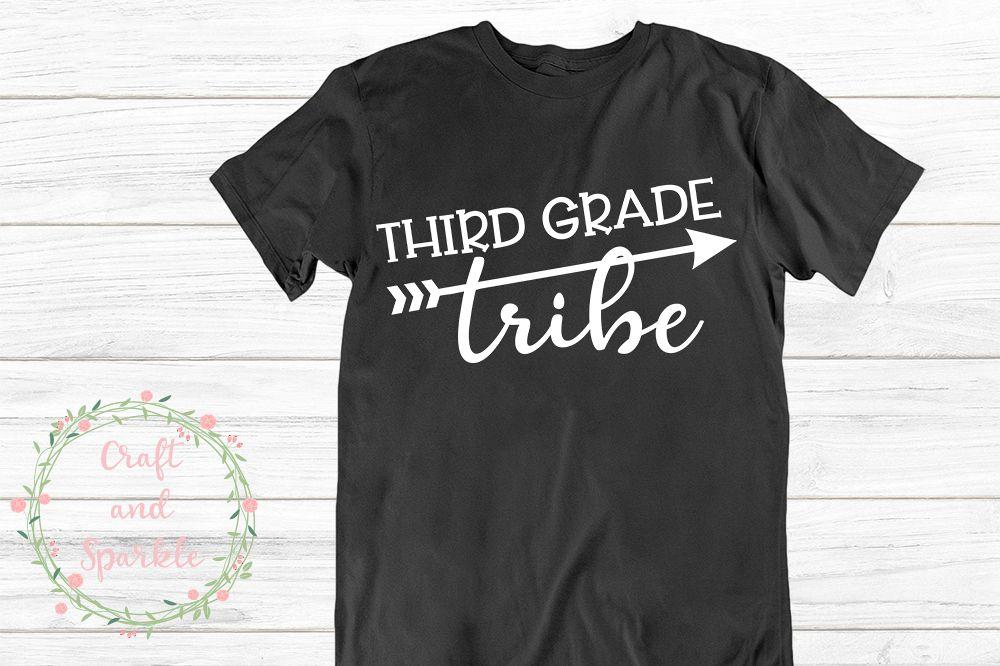 Third Grade Tribe svg - Teacher Tribe 3rd grade svg example image 1