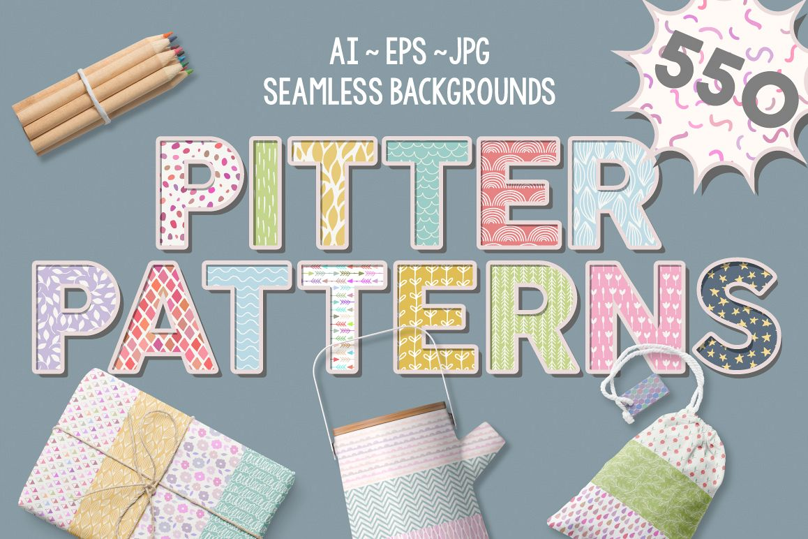 Pitter Patterns example image 1