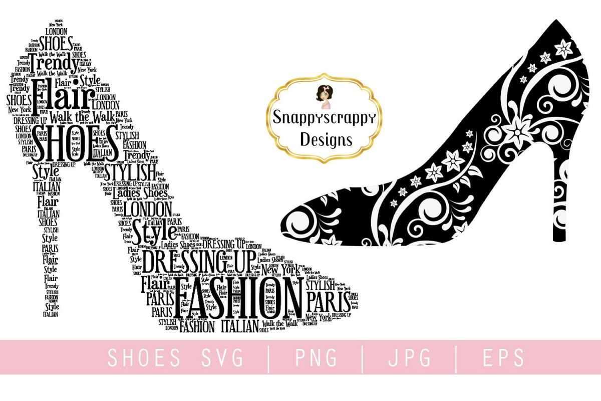 Fancy Shoes SVG example image 1