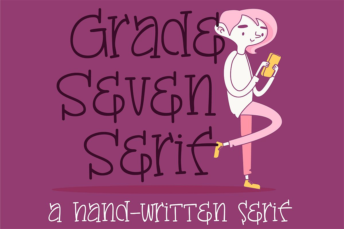 PN Grade Seven Serif example image 1