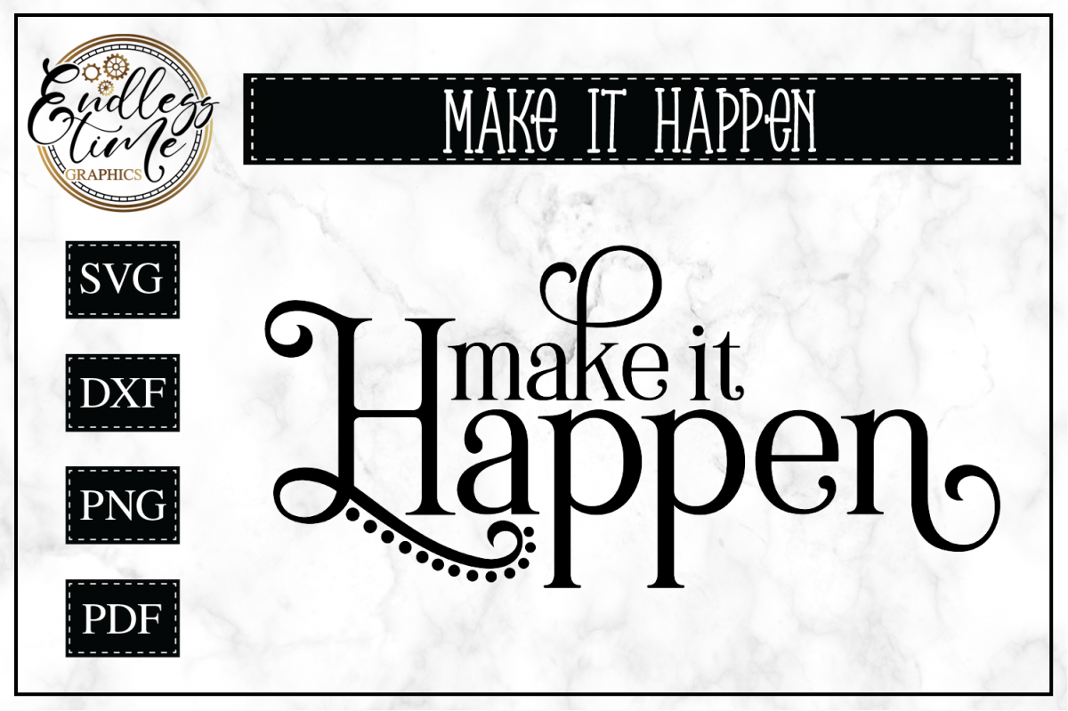 Inspirational Quote SVG Cut File example image 1