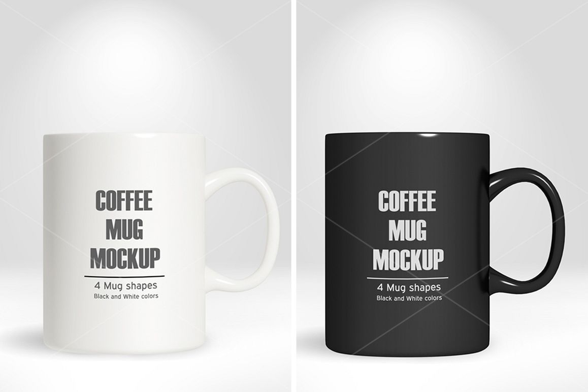 Coffee Mug/Cup Mockup vol.1 example image 1
