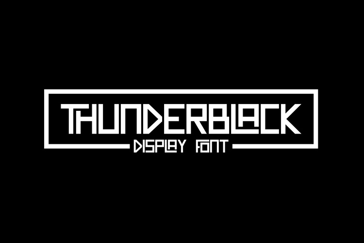 Thunderblack example image 1