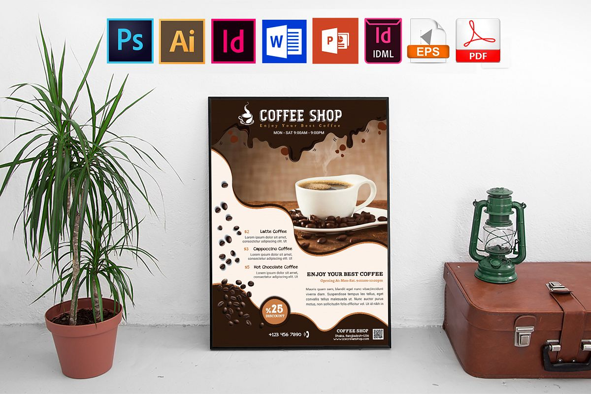 Poster | Coffee Shop Vol-02 example image 1