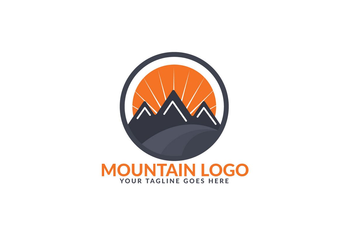 Mountain Logo Design. Travel And Adventure Sign. example image 1