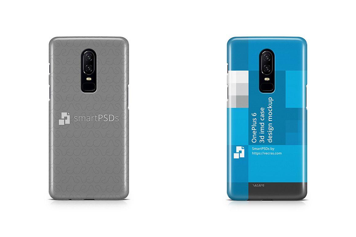 huge discount 48666 87b34 OnePlus 6 3d IMD Case Design Mockup 2018
