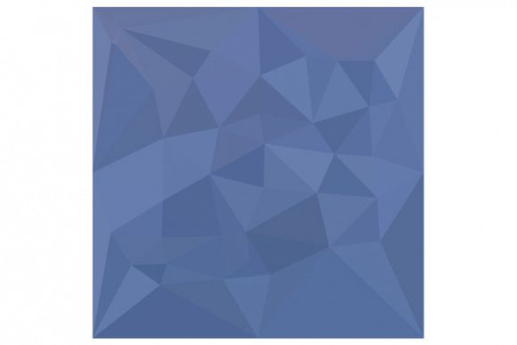 Cornflower Blue Abstract Low Polygon Background example image 1