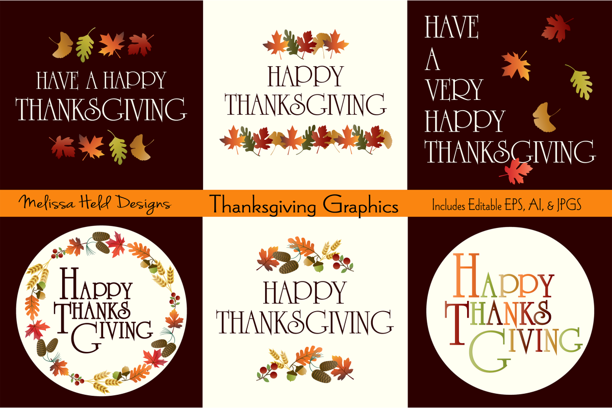 Thanksgiving Graphics example image 1