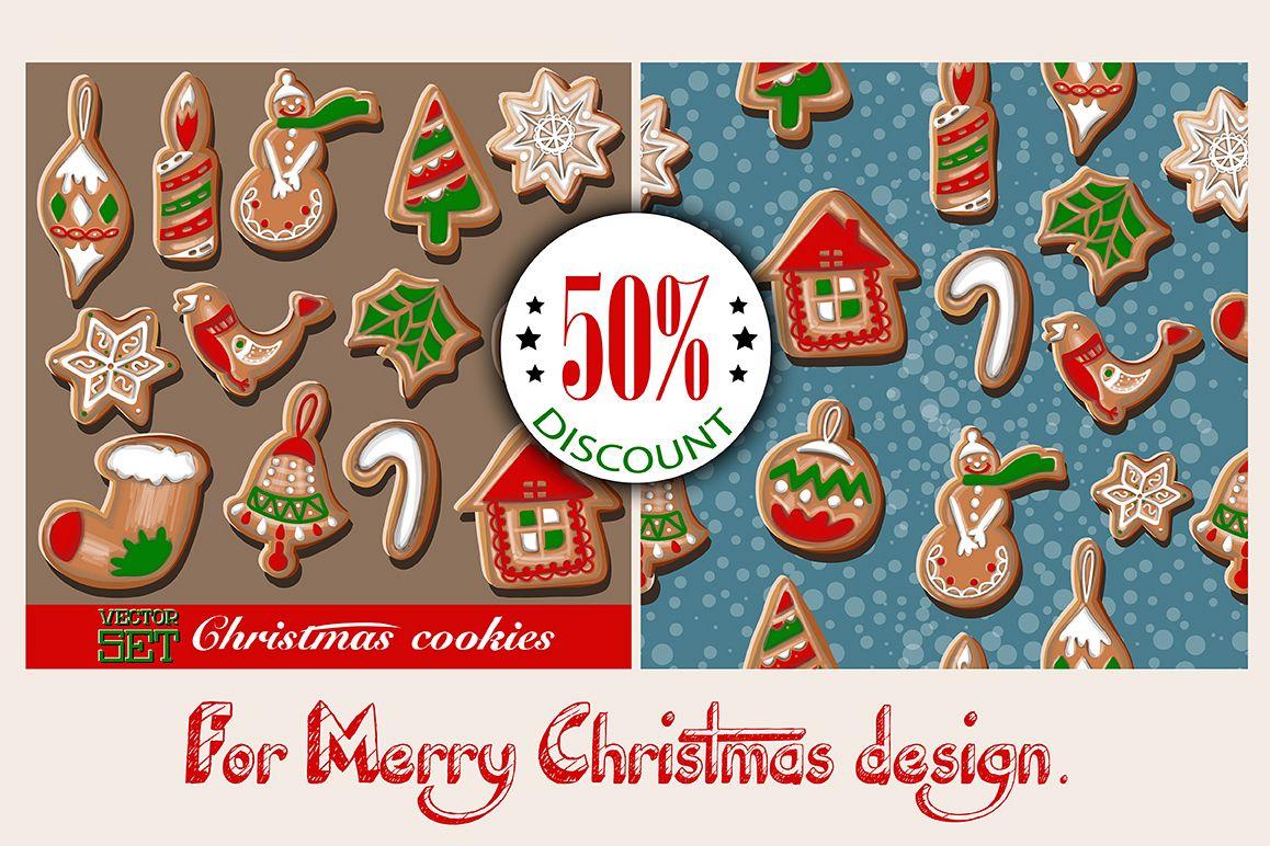 Christmas cookies set. example image 1