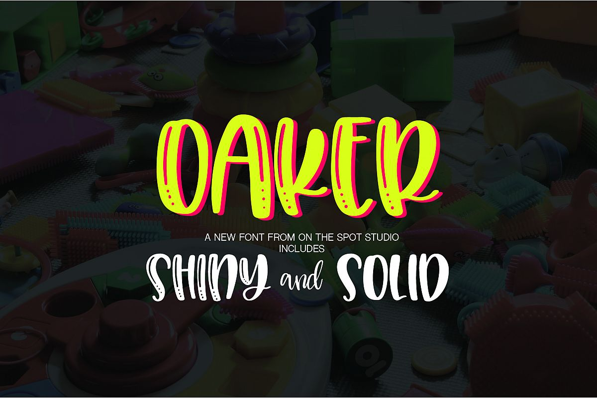 Oaker - Shiny & Solid example image